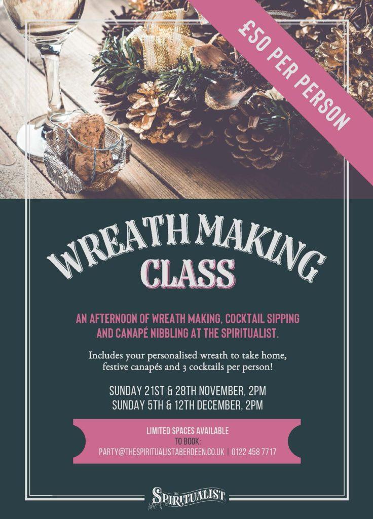 The Spiritualist Aberdeen Wreath Making Class Book Here